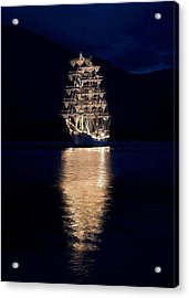 Ships That Pass In The Night Acrylic Print