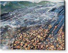 Shipwreck Waves Acrylic Print