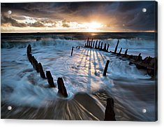 Shipwrecked Acrylic Print