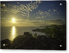 Shirley Heights Sunset Acrylic Print
