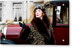 Shirley Maclaine @ Tv Serie Downton Abbey  Acrylic Print