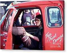 Shirley's Ride Acrylic Print