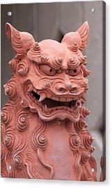 Shisa Or Okinawan Lion Gods, Are Said Acrylic Print