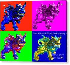 Shisha Lion Acrylic Print