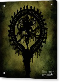 Shiva Acrylic Print by Cinema Photography