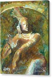 Shiva Creator Destroyer Acrylic Print by Ann Radley