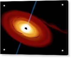Black Hole 3b Acrylic Print