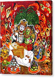 Shiva Kudumba Acrylic Print