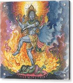 Shiva Nataraj Acrylic Print