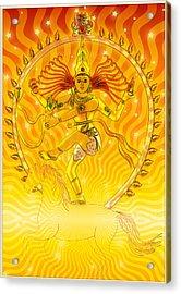 Shiva Nataraja Iv Acrylic Print