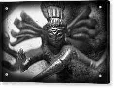 Shiva Nataraja  Acrylic Print by Tommytechno Sweden