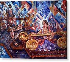 Shiva Parvati Acrylic Print