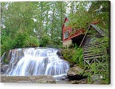 Shoal Creek Falls Acrylic Print by Bob Jackson
