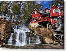 Shoal Creek Falls  Acrylic Print