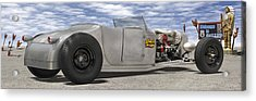 Shock Therapy At Gallap Acrylic Print by Mike McGlothlen