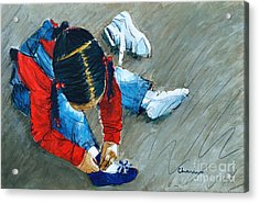 Shoe All New For Tanisha Acrylic Print by Charles M Williams
