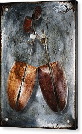 Shoe Trees Acrylic Print by Skip Nall