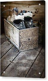Shoebox Still Life Acrylic Print by Tom Mc Nemar