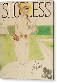 Shoeless Joe Jackson Acrylic Print by Rand Swift
