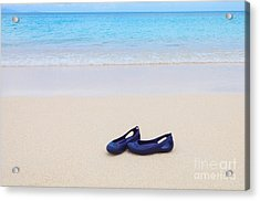 Shoes In Paradise Acrylic Print