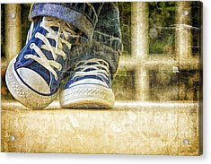 Acrylic Print featuring the photograph Shoes by Linda Blair
