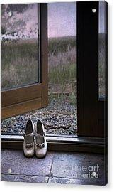 Shoes Acrylic Print by Svetlana Sewell