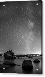 Shooting Stars Acrylic Print by Brad Scott