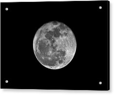 Shooting The Moon Acrylic Print