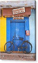 Shop On Street In Goa India Acrylic Print