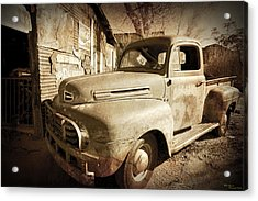 Shop Truck Acrylic Print