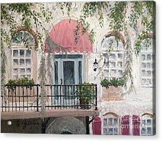 Shopping In Savannah Acrylic Print