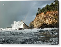 Shore Acres 10 Acrylic Print by Kenneth Haley
