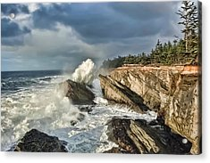 Shore Acres 12 Acrylic Print by Kenneth Haley
