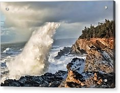 Shore Acres 17 Acrylic Print by Kenneth Haley