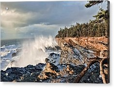 Shore Acres 18 Acrylic Print by Kenneth Haley