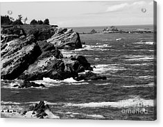 Shore Acres Acrylic Print by Deena Otterstetter