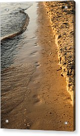 Shoreline Acrylic Print by BandC  Photography