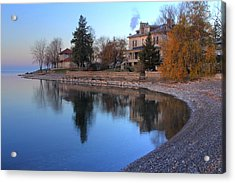 Acrylic Print featuring the photograph Shoreline - Kingston Ontario by Jim Vance