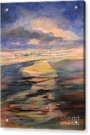 Shoreline Sunrise 11-9-14 Acrylic Print