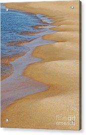 Shoreline Wavy Acrylic Print