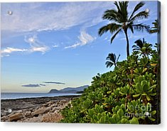 Acrylic Print featuring the photograph Shores Of Paradise by Gina Savage