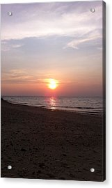 Short Beach  Long Island Acrylic Print by Julia Gatti