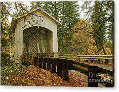 Short Covered Bridge Acrylic Print