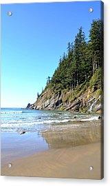Short Sand Beach Acrylic Print