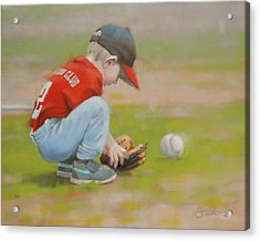 Short Shortstop Acrylic Print by Todd Baxter