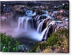 Shoshone Falls Acrylic Print by David Andersen