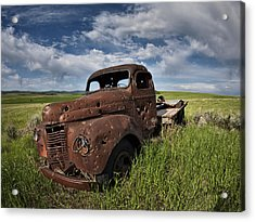 Shot Up Acrylic Print by Leland D Howard