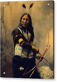 Shout At Oglala Sioux  Acrylic Print by Heyn Photo