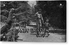 Show Cancelled Acrylic Print