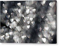 Showered In Love Acrylic Print